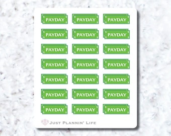 Final Sale - Payday Stickers