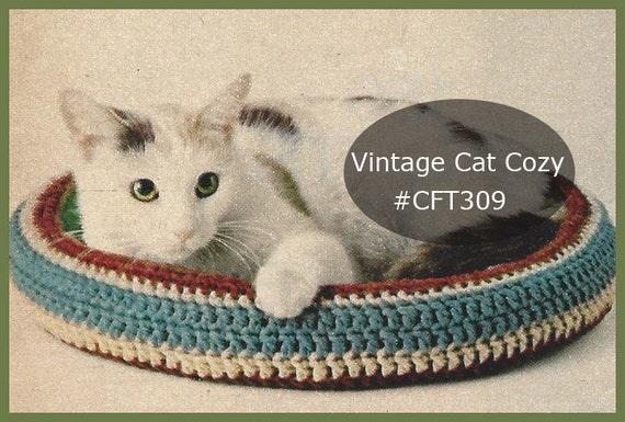 Cat Crochet Bednestcozy Crochet Pattern Free Zen Bed Instructions