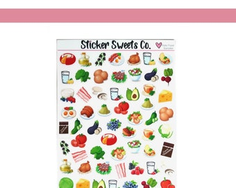 Assorted Food Sheet
