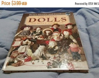 On Sale Cherished Dolls to Make for Fun Better Homes and Gardens  1984 Instructional Book Hardback Collectible