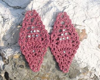 Crochet Elegance Earrings