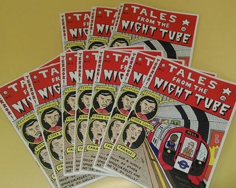 Tales From the Night Tube - Full Colour Cartoon Zine!!!