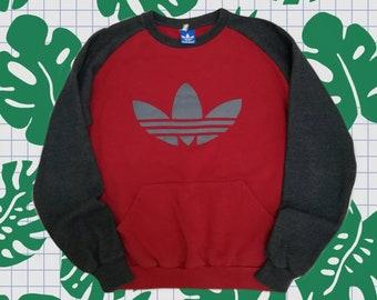 ADIDAS Trefoil logo sweatshirt