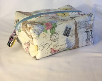 Jilly's large cosmetic bag