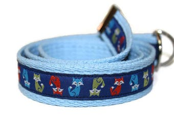 Children's Fox Belt-Adjustable D-Ring