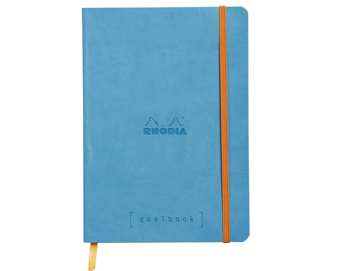 Featured listing image: Rhodia Goalbook - Turquoise A5 - Dot Grid