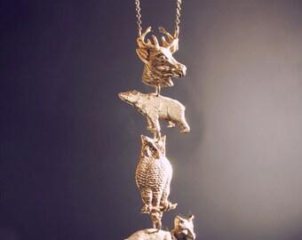 Spirit Animal Totem Necklace