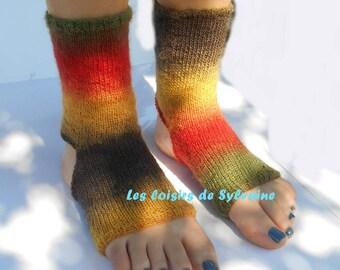 sock for yoga or dance