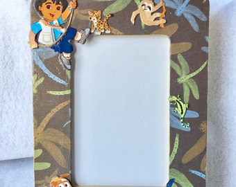 Nick Jr. Go Diego Go inspired picture Frame