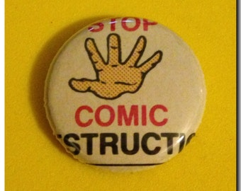 """1 of a kind 1"""" Comic Book Button"""