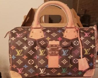 Very large designer inspired favor bag