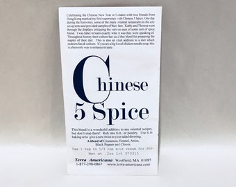Chinese 5 Spice