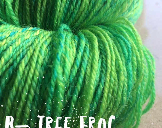 Elements Collection - Col Tree Frog 4 ply supersoft 100% Merino