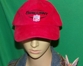 Coors Light NFL Hat, Embroidered Baseball Cap, Vintage Hat