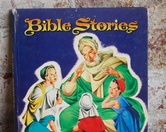 Vintage Children's Book, Bible Stories