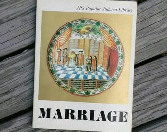 Vintage Judaica Marriage book