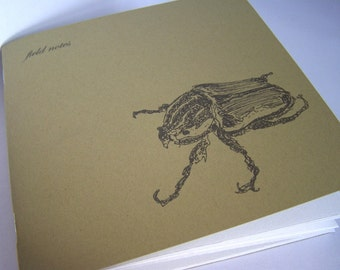 beetle notebook - field notes for the naturalist