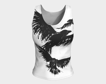 Crows XVII Fitted Tank Top