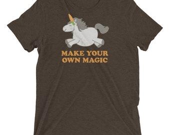 Make Your Own Magic - Short sleeve t-shirt
