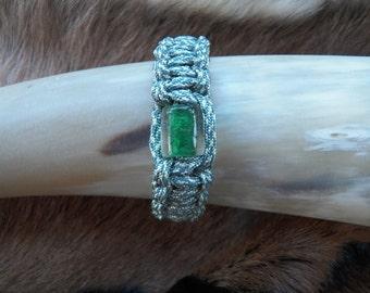 Paracord Beaded Bracelet.