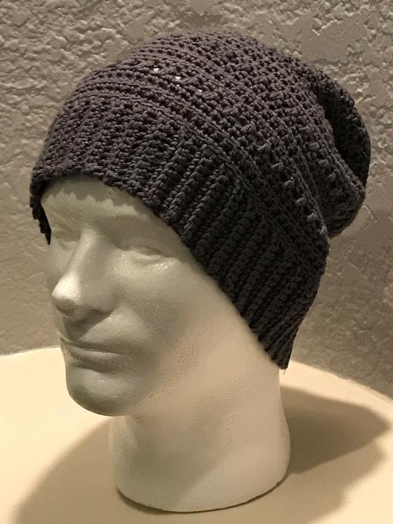Aspen Slouchy Beanie Crochet Pattern