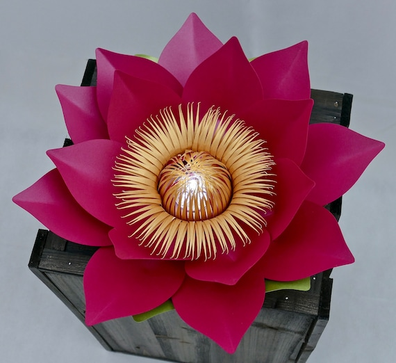 3D Lotus Flower Centrepiece Flower, Table Decoration, Chinese New Year Accessory