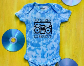 No Sleep Till Brooklyn Onesie // Beastie Boys Onesie