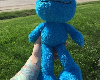1998 Cookie Monster Plush toy
