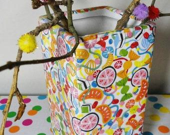 Flower Vase - Colorful Vase - Home Decor - Living Room Decor - Bedroom Decor - Ceramic Vase - Decoupage Flower Vase