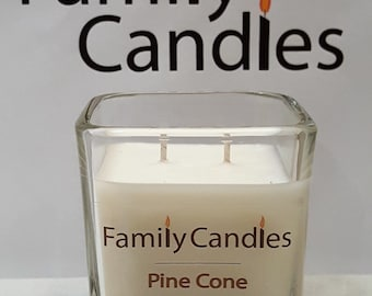 Family Candles - Pine Cone 7.5 oz Double Wicked Soy Candle