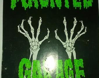 Haunted Garage Bumper Sticker