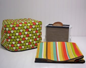 Quilted Kitchen 2 or 4 Slice Toaster Cover Sewing Pattern/ Toaster Toasty Pattern