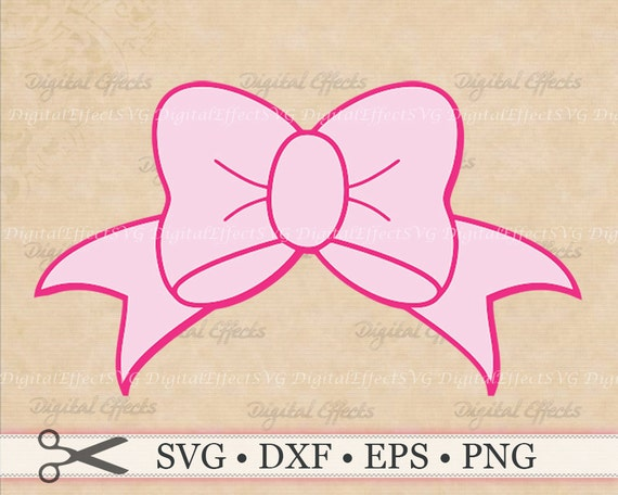 Download BOW SVG Big Pink Bow Svg Png Dfx Png Bow Stencil Bow