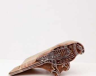 50% off Sale Hand Carved Stamps Bird 205