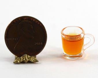 Clear Cup of Autumn Crisp Apple Cider