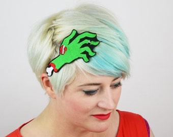 Zombie Hand Headband, Halloween Accessory