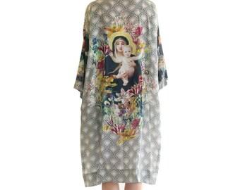 Strathcona Virgin Mary Kimono Robe