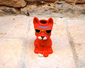 Small advertising pitcher Cat