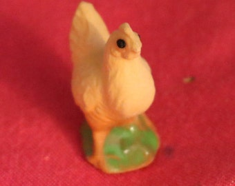 Vintage New Miniature Chicken Figurine