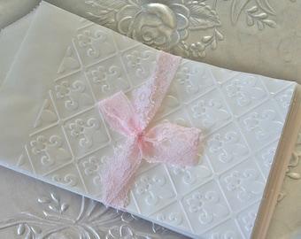 25 Glassine Fleur De Lis Favors Bags