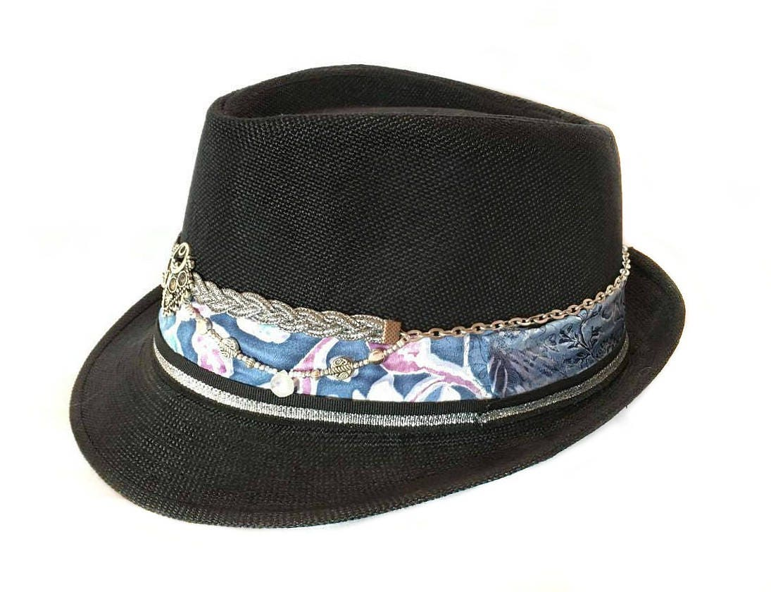 trilby hat for men psychedelic hats festival fashion nomad 44897b2a56b3