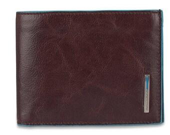 Wallet Piquadro Blue Square Credit Card Holder Pu1241b2r Braun (Mogano)