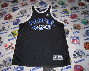 vintage 90s Orlando Magic Starter Basketball Jersey - sz 48 - champion shaq