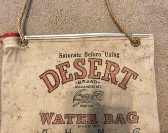 Desert Brand Water Bag, Vintage