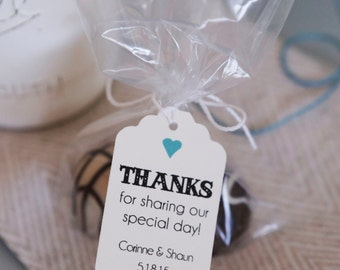 100- Favor Tags, Dessert Tags, Wedding Tags, Customizable Favor Tags, Personalized Favor Tags, Rustic Chic Tags, Bakery tags
