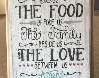 Family Blessing Sign