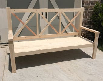Large Porch Bench/Daybed | ATLANTA