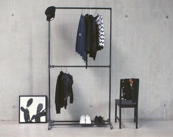 Clothes Rack industrial style - ANNA II