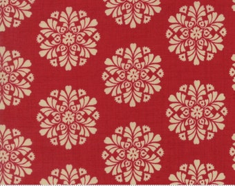 Madame Rouge cotton fabric by French General for Moda fabric