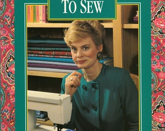 Vintage Nancy Zieman 10 20 30 Minutes to Sew Softbound Book 143 Pages Sewing Techniques Basics Tips Serger How To Using Sewing Patterns